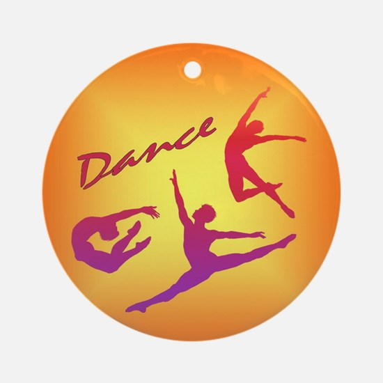 Dance Ornament (Round)