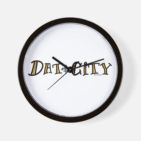 Dat City Wall Clock