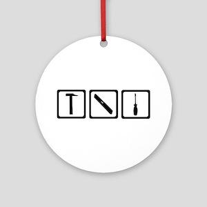 Tools Ornament (Round)