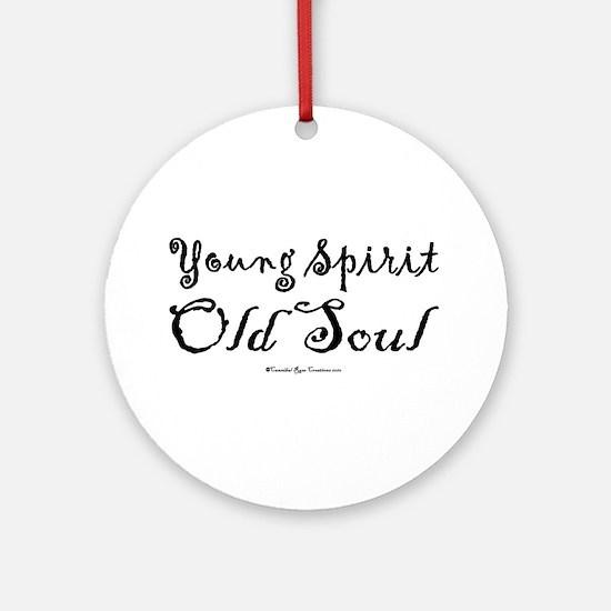 Spirit & Soul Ornament (Round)