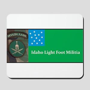 Idaho Light Foot Militia Mousepad