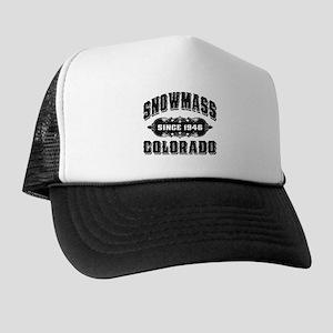 157c2cda99d Aspen Mountain Trucker Hats - CafePress