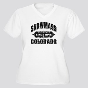 Snowmass Old Style Light Women's Plus Size V-Neck