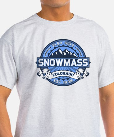 Snowmass Blue T-Shirt