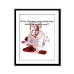 Your Child Framed Panel Print