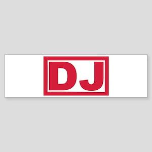 DJ Sticker (Bumper)
