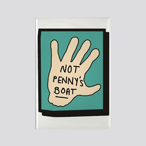 Not Penny's Boat LOST Rectangle Magnet