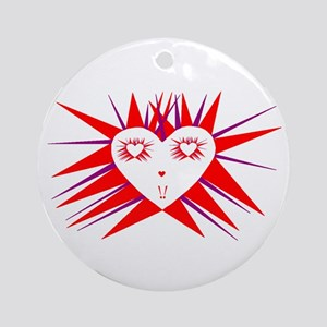 Radiant Heart Ornament (Round)