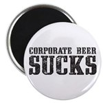 Corporate Beer Sucks. Magnet