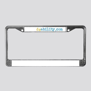 Life in the 21st Chromosome License Plate Frame