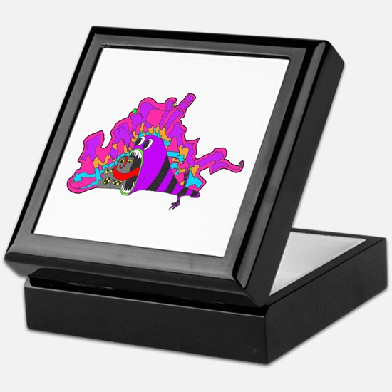 Monster Tagging Keepsake Box