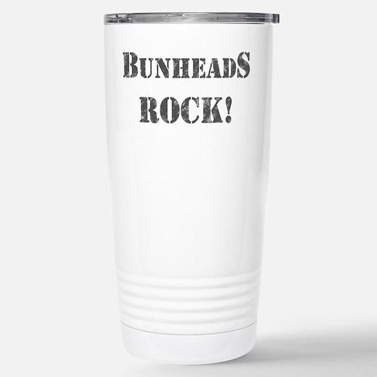 Bunheads Rock Stainless Steel Travel Mug