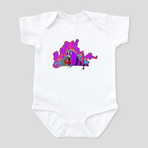 Monster Tagging Infant Bodysuit