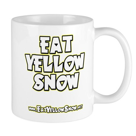 Eat Yellow Snow - Dark Mug