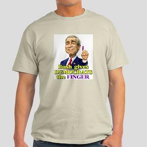 Bush Finger Ash Grey T-Shirt
