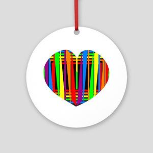 Neon Color Ornament (Round)
