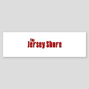 Jersey Shore Sopranos Red Sticker (Bumper)