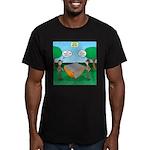 Rookie Mistake Men's Fitted T-Shirt (dark)