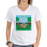 Rookie Mistake Women's V-Neck T-Shirt