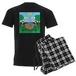 Rookie Mistake Men's Dark Pajamas