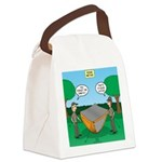 Rookie Mistake Canvas Lunch Bag