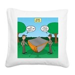 Rookie Mistake Square Canvas Pillow