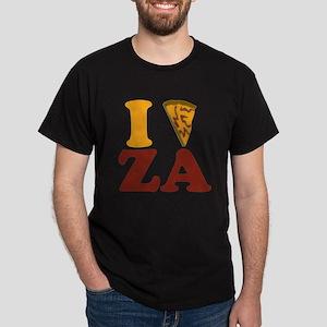 I (Heart/Slice) Za Dark T-Shirt
