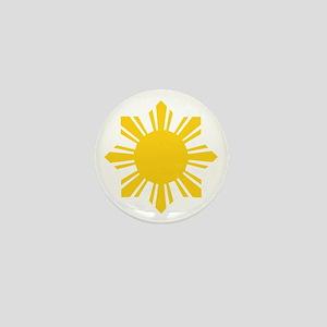 Philippine Star Mini Button