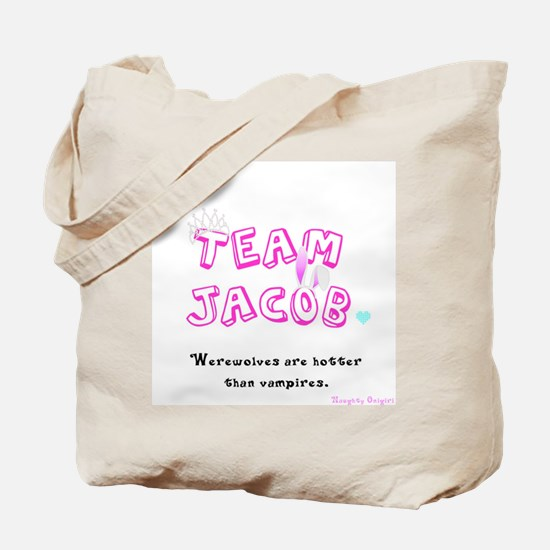 Twilight Team Jacob tote bag