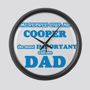 Some call me a Cooper, the most i Large Wall Clock