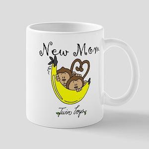 Monkeys Mom of Twin Boys Mug