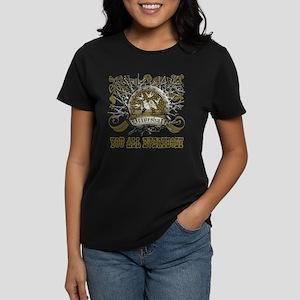 Lost Band Drive Shaft Grunge Women's Dark T-Shirt