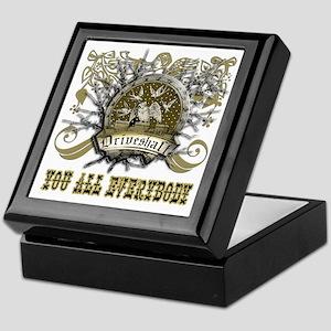 Lost Band Drive Shaft Grunge Keepsake Box