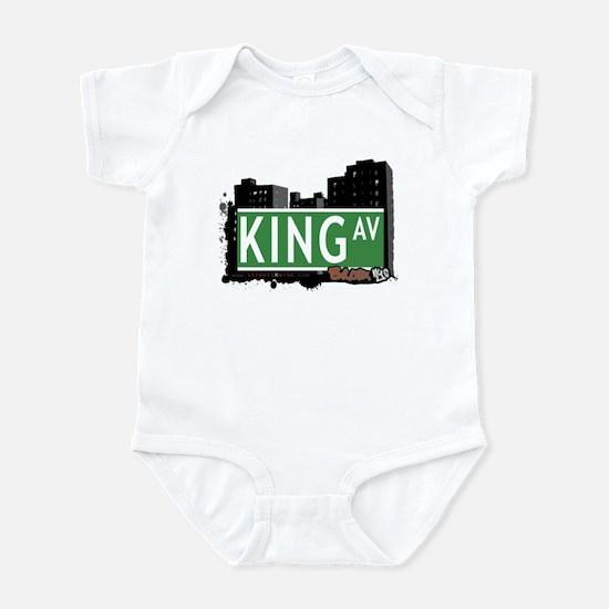 King Av, Bronx, NYC Infant Bodysuit