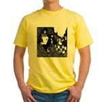 The Peacock Yellow T-Shirt