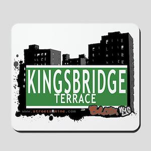 KINGSBRIDGE TER, Bronx, NYC Mousepad