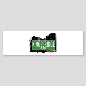 KINGSBRIDGE TER, Bronx, NYC Sticker (Bumper)