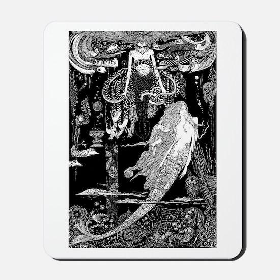 Mermaid Slave Mousepad