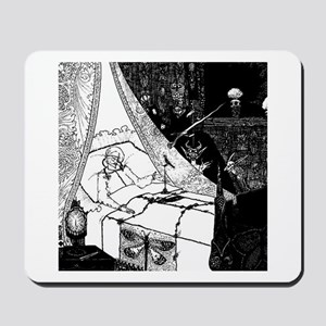 Death Bed Mousepad