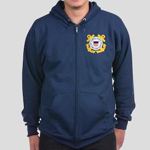 Coast Guard Zip Hoodie 1