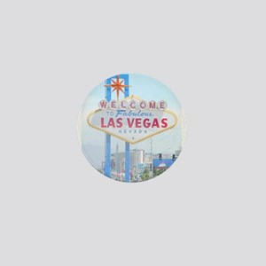Welcome to Fabulous Las Vegas Mini Button