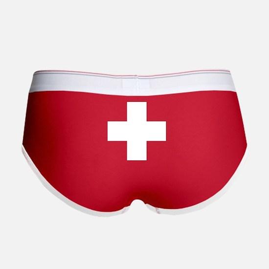 Switzerland Flag Women's Boy Brief