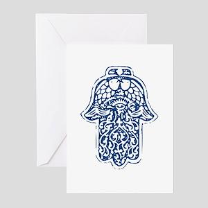 Hamsa (Hand of God) Greeting Cards (Pk of 10)