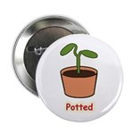"Potted 2.25"" Button (10 pack)"