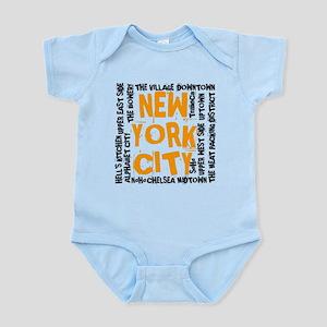 NYC_neighborhoods(on-white)2 Body Suit