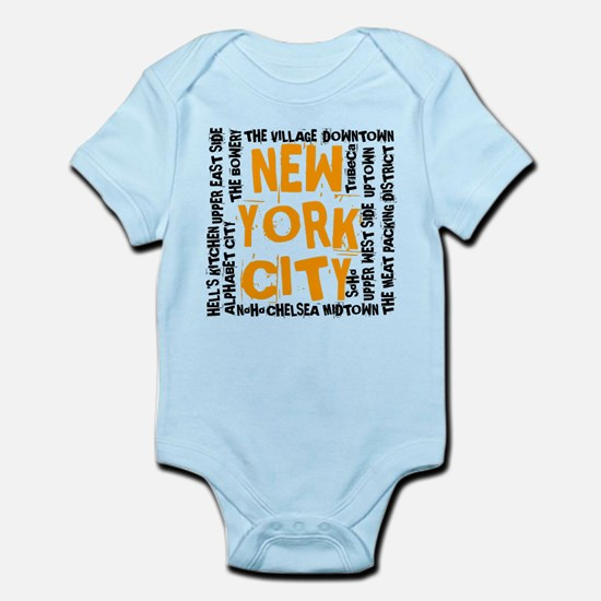 Upper east side baby clothes cafepress nycneighborhoodson white2 body suit negle Choice Image