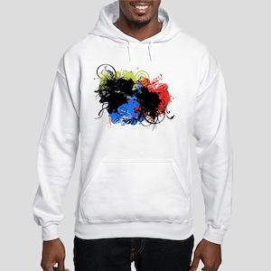 Vintage Curls Hooded Sweatshirt