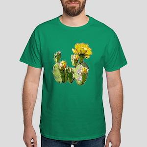 CACTUS FLOWERS Dark T-Shirt