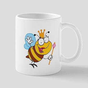 Cartoon Queen Bee Mug