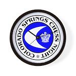 Colorado Springs Chess Night Wall Clock
